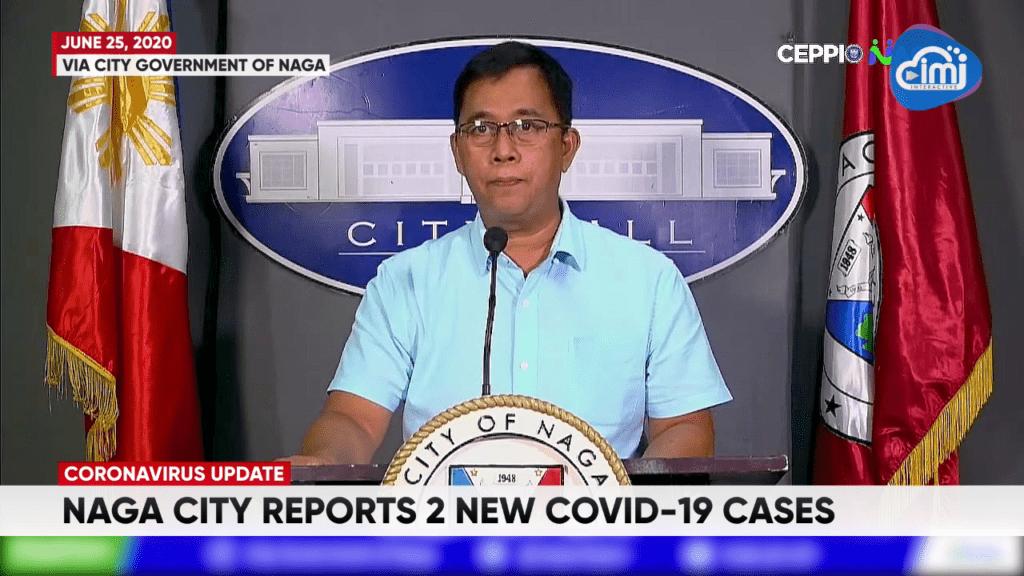 Naga City reports 2 new COVID-19 cases