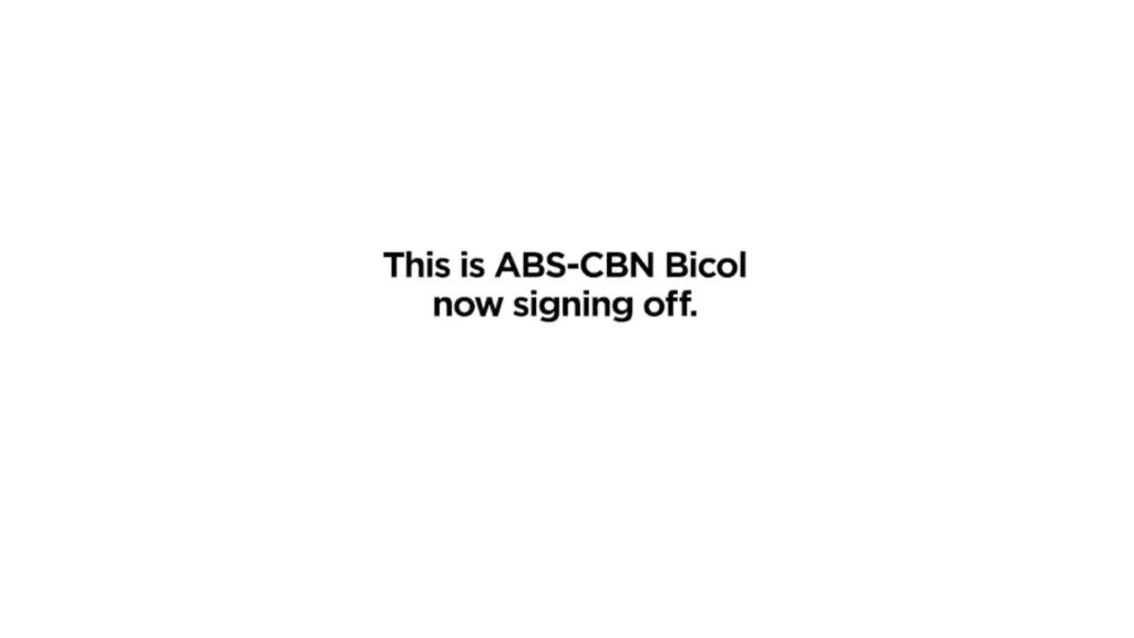 TV Patrol Bicol, regional programs, stations bid farewell on its last broadcast