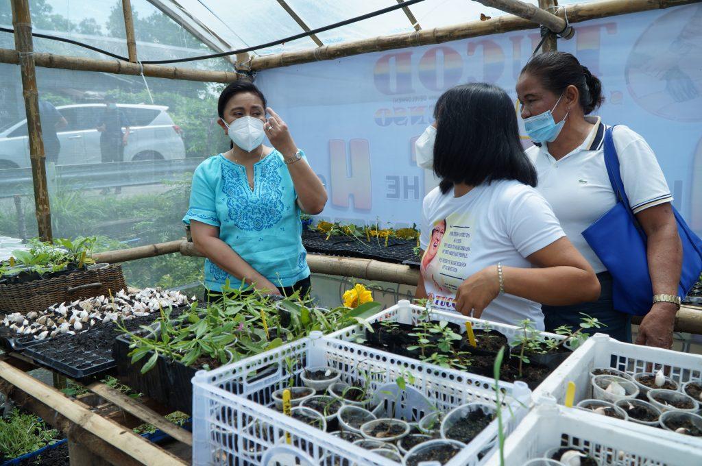 VP Leni Robredo graces F.A.I.T.H. Garden Pantry launch in Naga